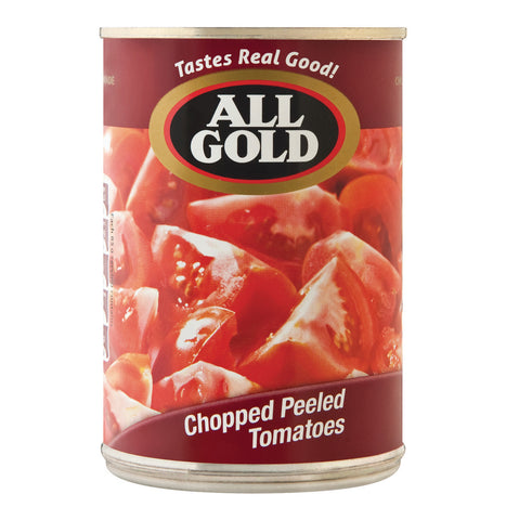 ALL GOLD CHOPPED PEELED TOMATOS 400G X 12