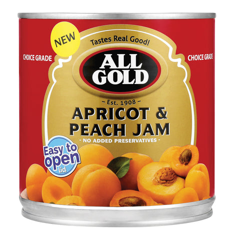 ALL GOLD APRICOT JAM 900G
