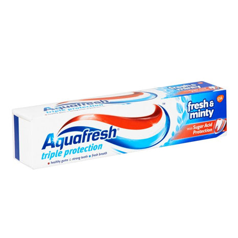 AQUAFRESH T/PASTE 100ML, FRESH&MINTY