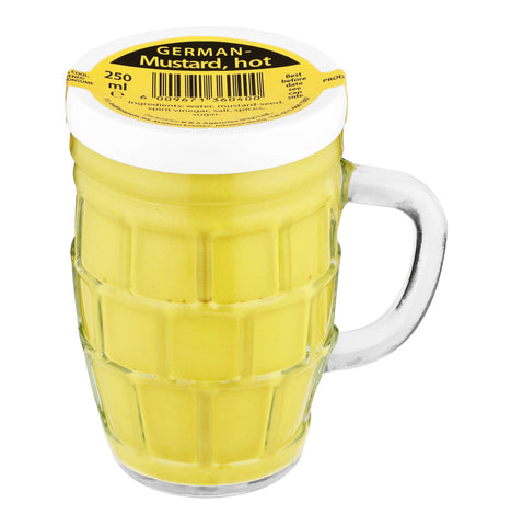 B + S GERMAN BEER MUG MUSTARD 250ML