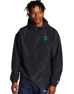 Champion Packable Jacket, Pop Color Logo