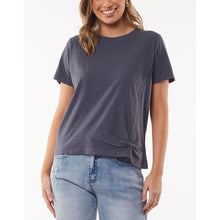 Knot Front Crop Tee