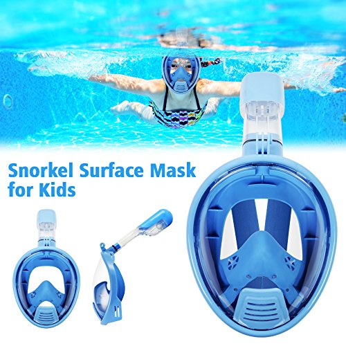 Full Face Snorkel Mask For Kids
