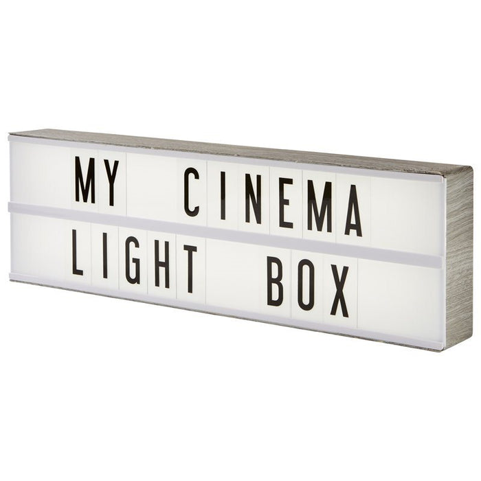 Lightbox Letter Board