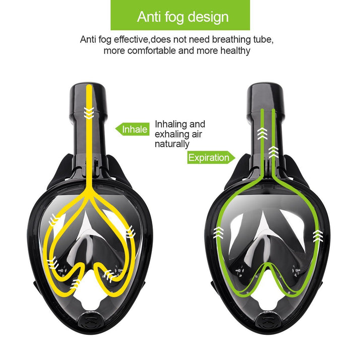 Full Face Snorkel Mask For Adult