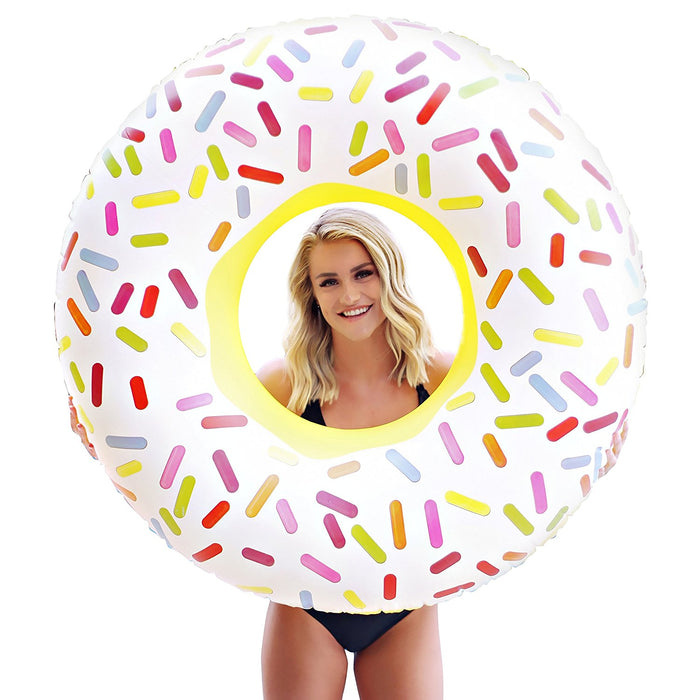 Giant Sprinkle Donut Float