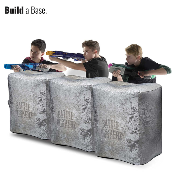 Concrete Block Inflatable Battle Zone