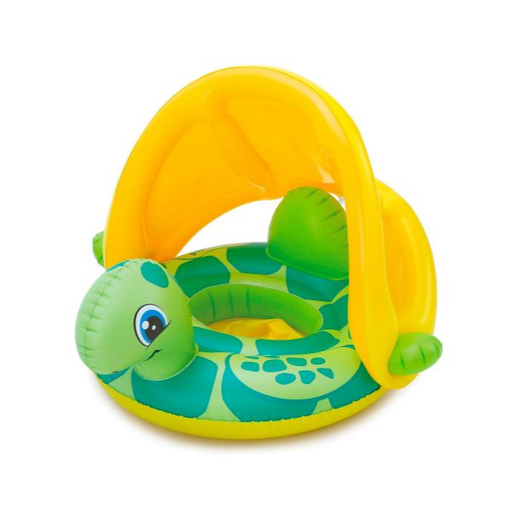 Sea Turtle Inflatable Baby Boat