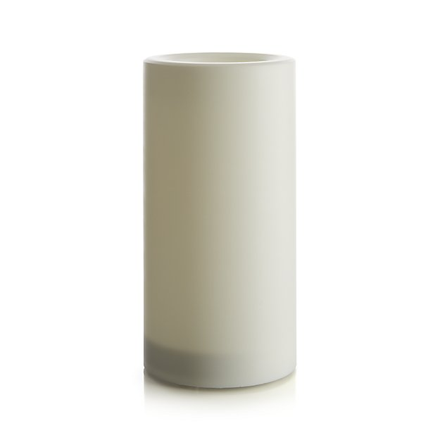 "Pillar Candle With Timer, 4"" x 8"""