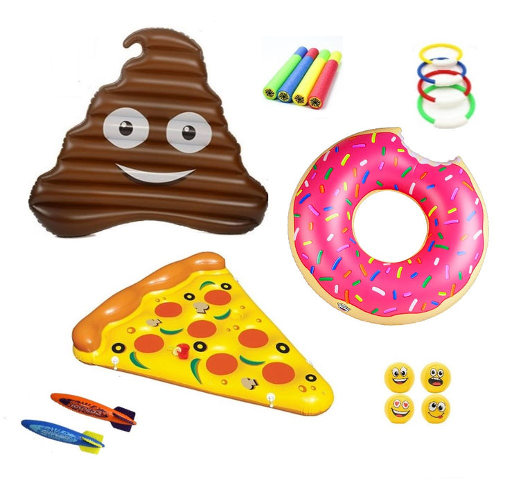 Emoji Pool Party Kit
