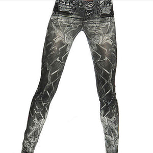 Slim Leggings  Bandage Skinny Womens