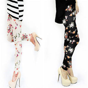 Alexis Floral Casual Leggings