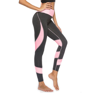 a4ca04a783 High Waist Slim Fitness Leggings