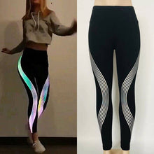 Elastic Glow In Dark Leggings