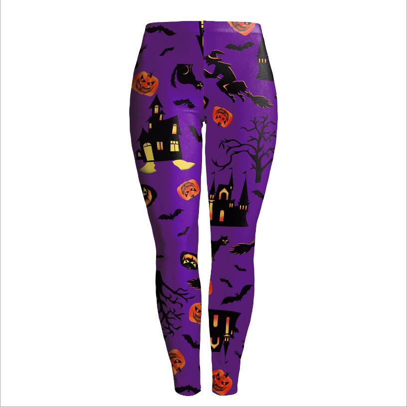 Halloween Plenty Purple Leggings