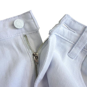 Autumn White Hole Ripped Fashion Jeans