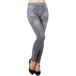 Casual fashion jeggings jeans