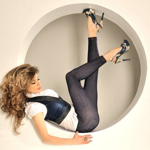 Fashion Lady Legging Jeans