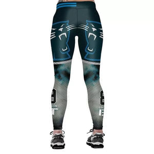 3D PRINT WOMEN LEGGINGS LEGGING Carolina Panther STYLE PRINTED WOMEN PANTS SLIM FITNESS LEGGINS
