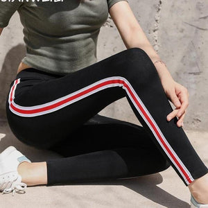 Casual Height Waist Autumn Leggings