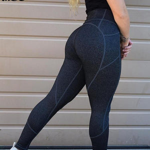 Sexy Push Up Navy Blue Leggings