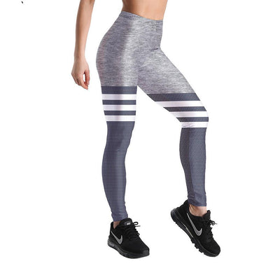 LEIMOLIS-3D-Printed-Gray-White-Striped-Leggings