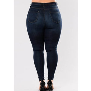 Ladies Womens Jean Denim Jegging