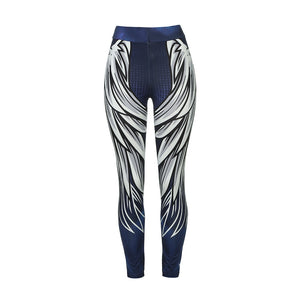 Angel Wings Fitness Leggings