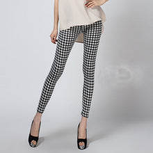 Houndstooth Casual Pattern Leggings