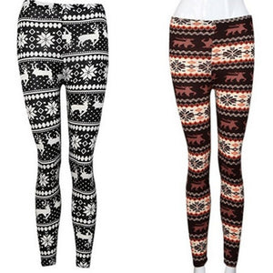 Flying Deer Warm Leggings