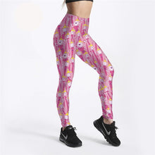 Fashion Street Style Adventure Time Printed Leggings