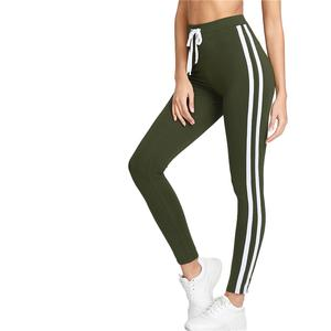 Tape Side Drawstring Leggings