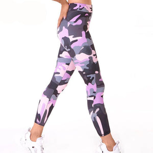 Camouflage Women Legging Adventure Time