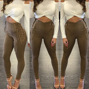 Infinite Lace Up Leggings