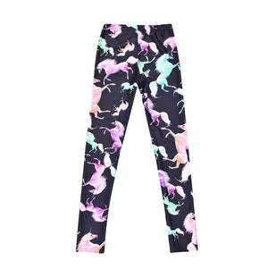 Emilia Unicorn Casual Leggings