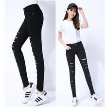 sunlight Summer style white hole ripped jeans