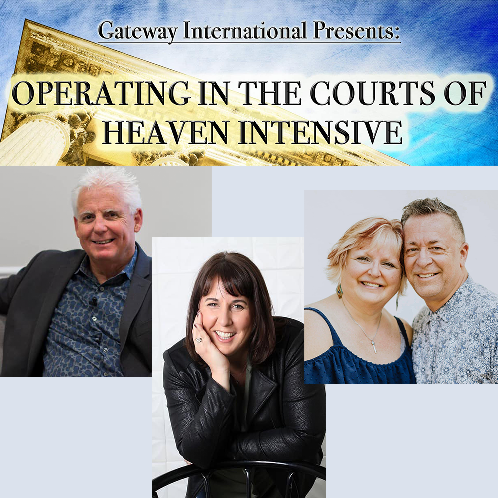 Courts of Heaven Intensive 2020 - Session 08 - Robert Henderson