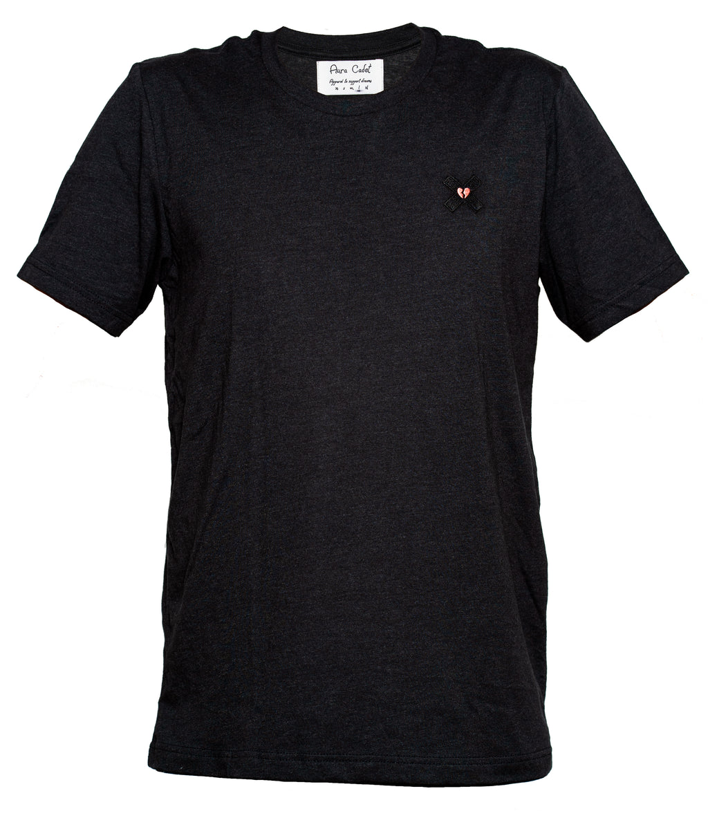 Ethereal Heather Black Tee