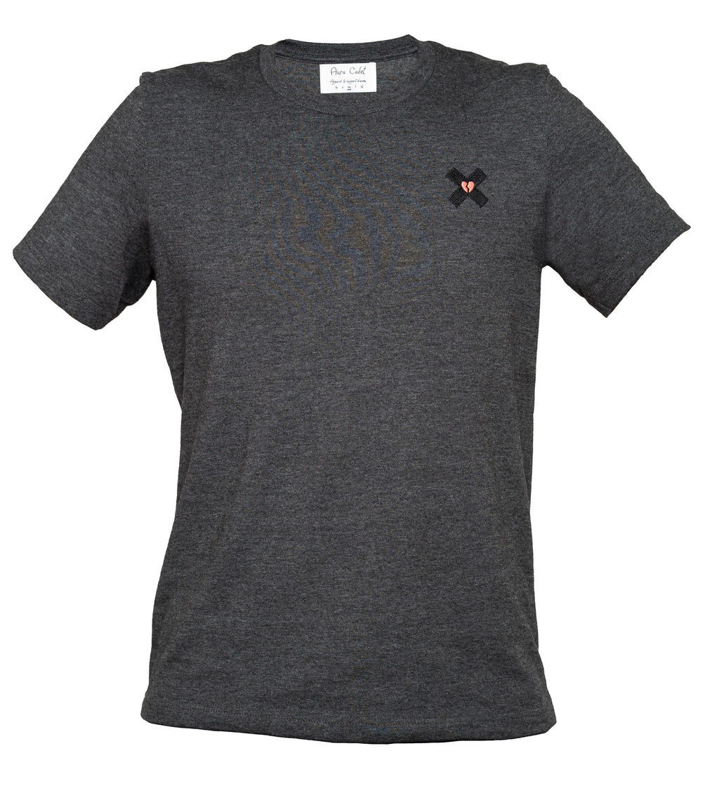Cadet Dark Grey Heather Tee