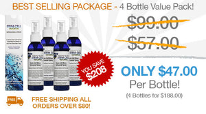 Stem Cell Worx VIP Group Special - 4 Bottle Value Pack
