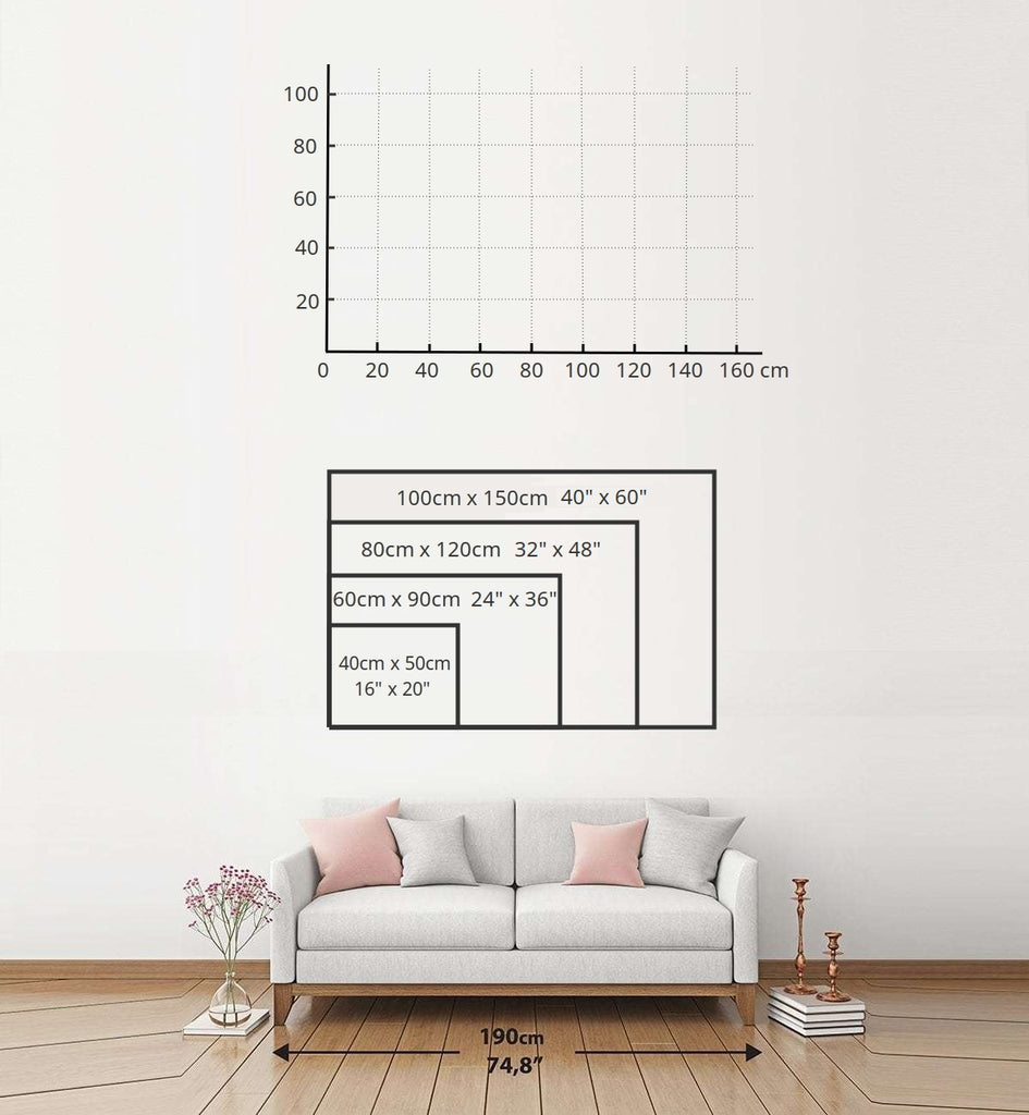 Landscape sizing chart bigger and non-standard sizes