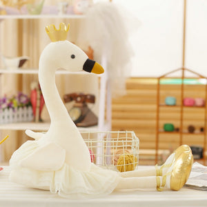 Swan & Flamingo plush toys