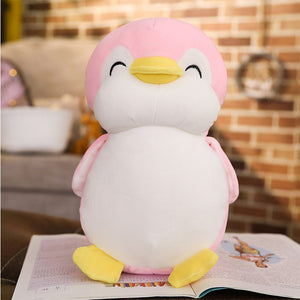 Fat penguin plush toy