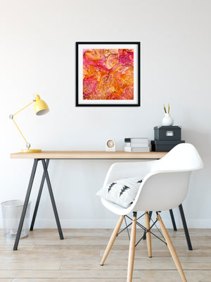 GN-z11 - abstract resin art print