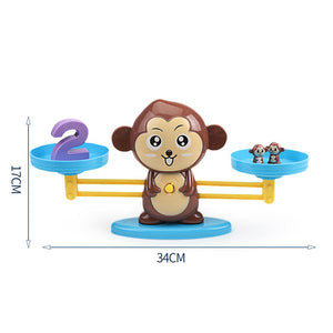 Monkey arithmetic game