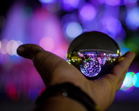 Crystal photography lens ball for amazing shots