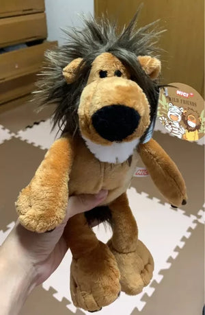 Safari wild animal plush dolls