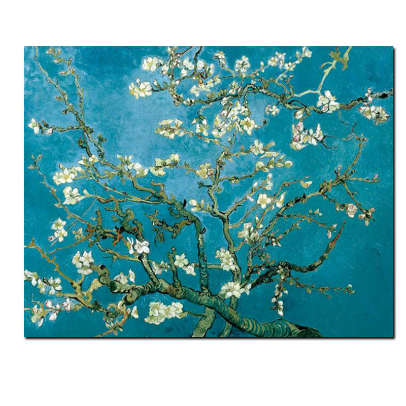 Almond Blossom - Vincent van Gogh replica canvas art print for art fans