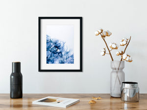 Love in a Mist - abstract resin art print