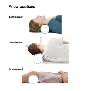 Buckwheat roller pillow for neck & back care